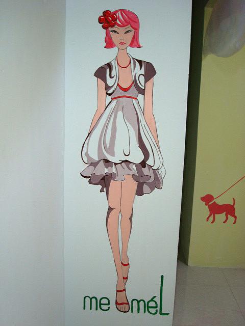 室内墙体手绘