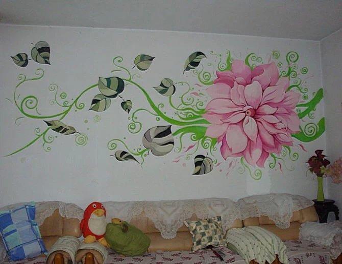 手绘墙一平米多少钱