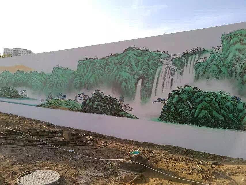 用丙烯颜料在手绘墙上作画需要注意哪些事项