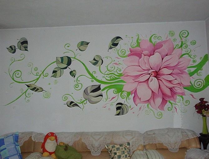 墙体彩绘来说在绘制的过程中会遇到一些问题