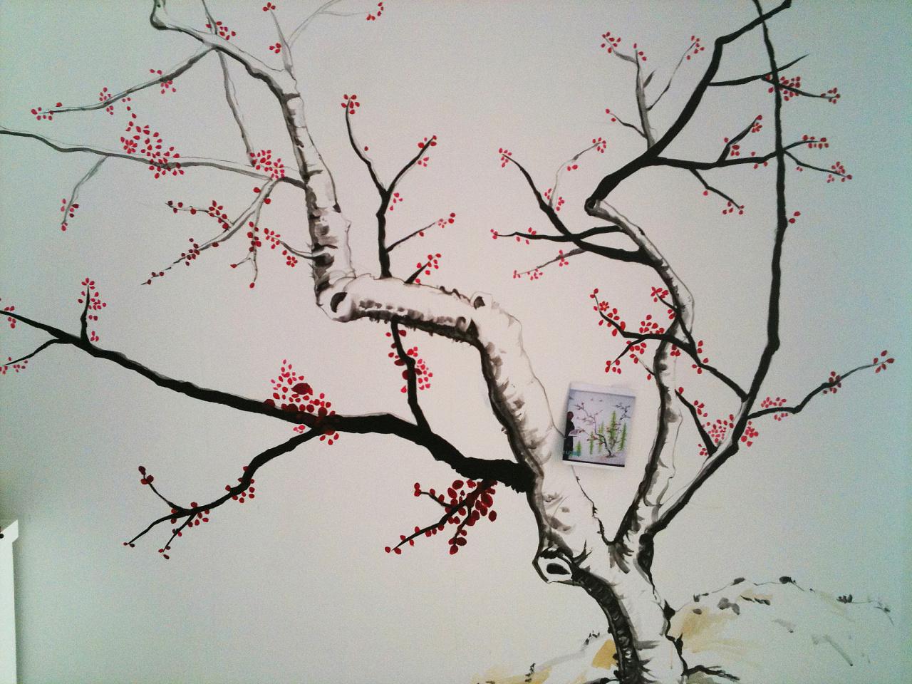 手绘墙画很受欢迎对于制作步骤该如何你知道吗?