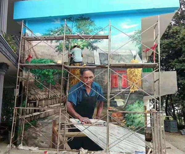 上海涂鸦墙标志性手绘涂鸦墙面在哪里?