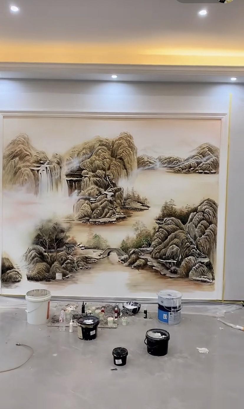办公室手绘墙的体现方式有哪些?