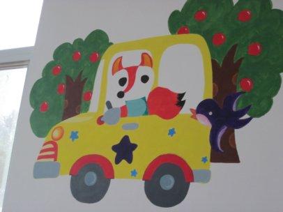 幼儿园手绘墙在儿童绘画方面能够起到很多重大的作用