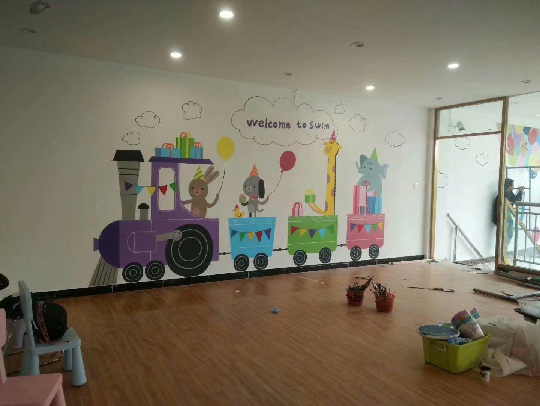 墙贴与墙纸、手绘的区别