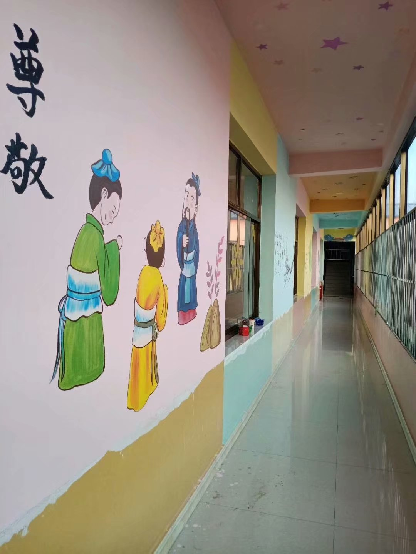 手绘墙画历史