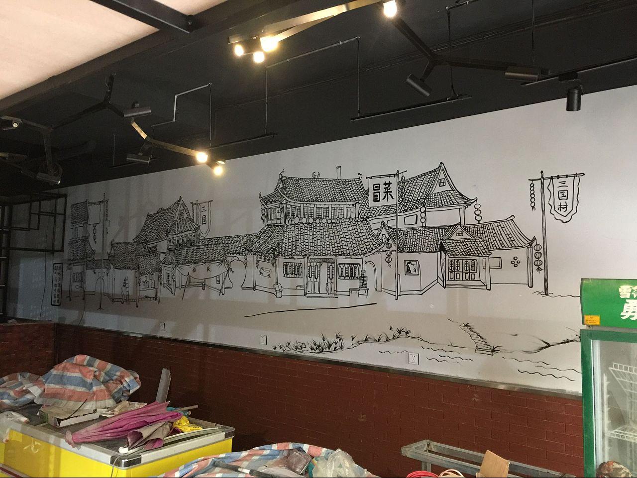 跟大家说说用手绘墙装饰有什么好处