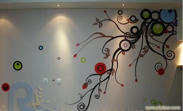 设计办公室墙绘