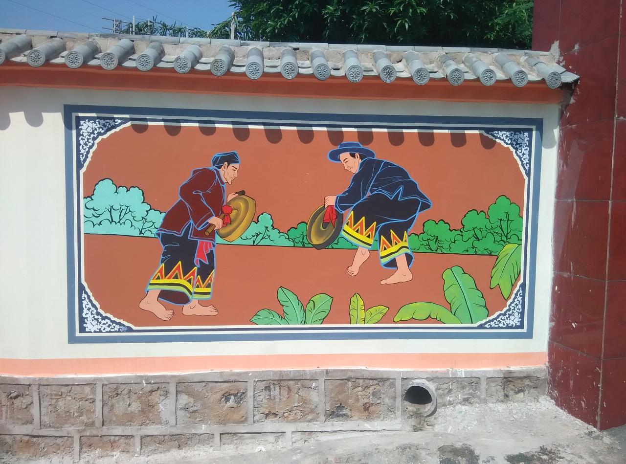 选择合适的墙绘风格是很重要的